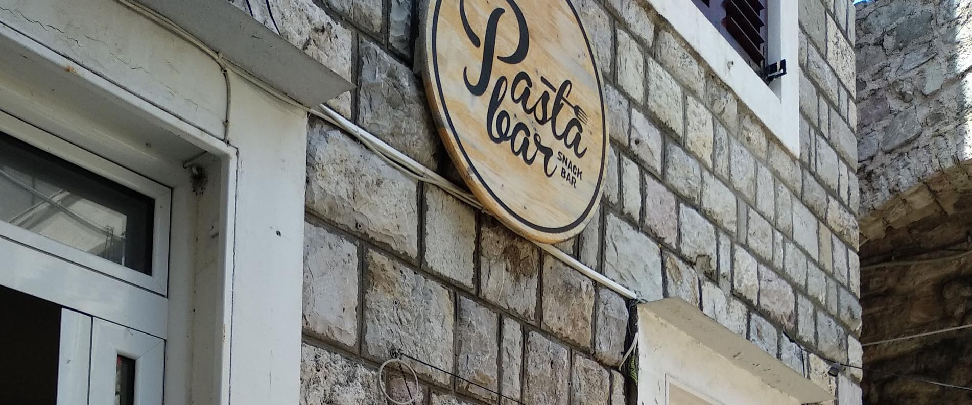 Pasta Bar в Будве