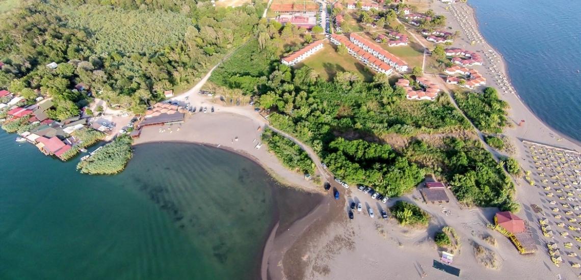 Ada Bojana, остров Ада-Бояна в Улцине
